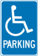 HDCP - Handicap sign