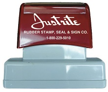 IS-09 - MS-09 Pre-Inked Stamp